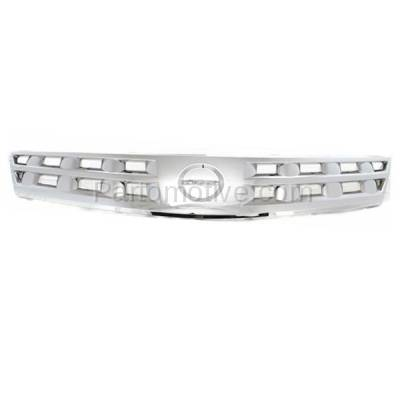 Aftermarket Replacement - GRL-2255C CAPA NEW Front Grill Grille Chrome NI1200200 62310CA00A Fits 03 04 05 Murano - Image 1