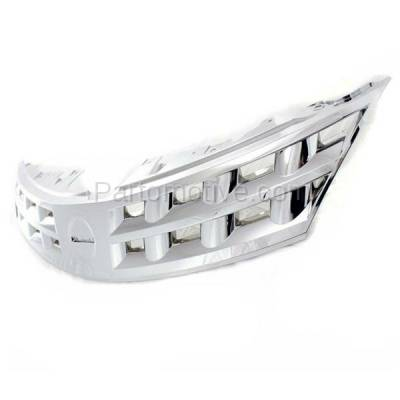 Aftermarket Replacement - GRL-2255C CAPA NEW Front Grill Grille Chrome NI1200200 62310CA00A Fits 03 04 05 Murano - Image 2