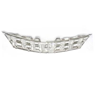 Aftermarket Replacement - GRL-2255C CAPA NEW Front Grill Grille Chrome NI1200200 62310CA00A Fits 03 04 05 Murano - Image 3