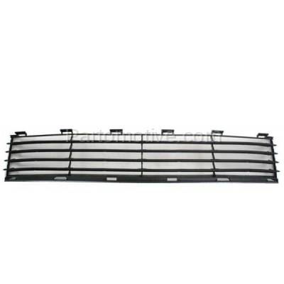 Aftermarket Replacement - GRL-2375C CAPA 04-09 Prius Front Lower Bumper Grill Grille Black TO1036112 5311147010 - Image 1