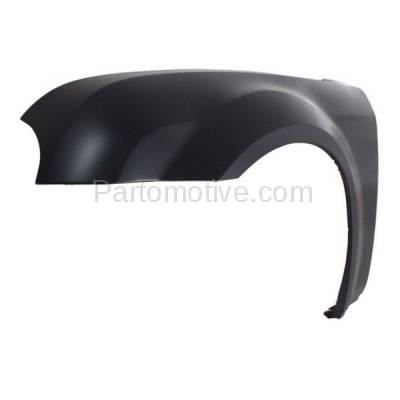 Aftermarket Replacement - FDR-1145L 2005-2010 Chrysler 300 (2.7 & 3.5 & 5.7 & 6.1 Liter) Front Fender Quarter Panel (with Mudguard Provision) Primed Steel Left Driver Side - Image 2