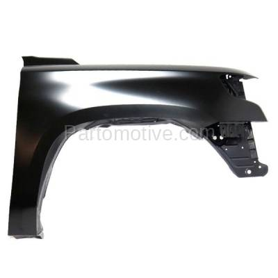 Aftermarket Replacement - FDR-1731R 15-17 Chevy Tahoe Front Fender Quarter Panel Passenger Side GM1241388 22756424 - Image 1