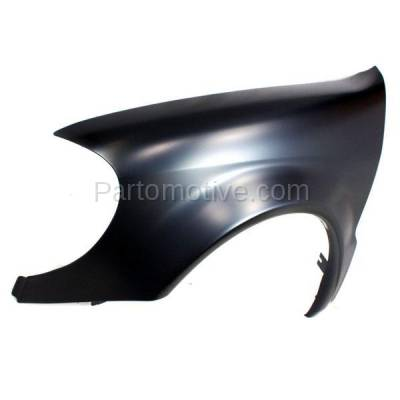 Aftermarket Replacement - FDR-1505L 02-05 ML-Class 163 Chassis Front Fender Quarter Panel Left Driver Side MB1240128 - Image 2