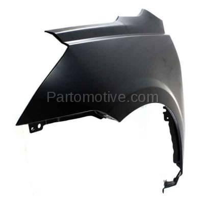 Aftermarket Replacement - FDR-1777L 09-17 Chevy Traverse Front Fender Quarter Panel Driver Side GM1240360 20802980 - Image 2