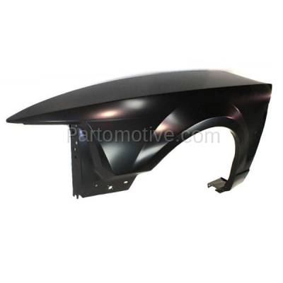 Aftermarket Replacement - FDR-1523L 99-04 Mustang Front Fender Quarter Panel Left Driver Side FO1240201 XR3Z16006AA - Image 2