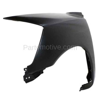 Aftermarket Replacement - FDR-1757L Front Fender Quarter Panel Left Driver Side For 05-15 Titan NI1240182 F3101ZR1EA - Image 2