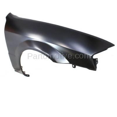 Aftermarket Replacement - FDR-1576R 99-00 Protege Front Fender Quarter Panel Passenger Side RH MA1241136 BJ0J52111A - Image 2