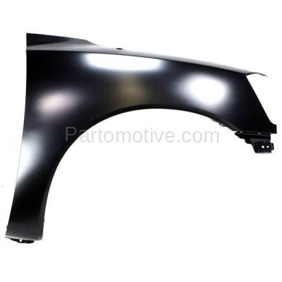 Aftermarket Replacement - FDR-1757R Front Fender Quarter Panel Passenger Side For 05-15 Titan NI1241182 F3100ZR1EA - Image 1