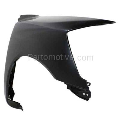 Aftermarket Replacement - FDR-1757R Front Fender Quarter Panel Passenger Side For 05-15 Titan NI1241182 F3100ZR1EA - Image 2
