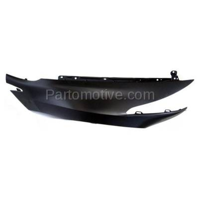 Aftermarket Replacement - FDR-1844R 2010-2013 Acura ZDX Front Fender Quarter Panel without Molding Holes (without Turn Signal Light Hole) Steel Right Passenger Side - Image 3
