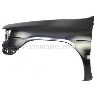 Aftermarket Replacement - FDR-1560L Front Fender Quarter Panel Driver Side For 96-99 Pathfinder NI1240161 F31010W030 - Image 1