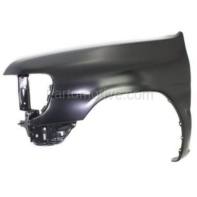 Aftermarket Replacement - FDR-1560L Front Fender Quarter Panel Driver Side For 96-99 Pathfinder NI1240161 F31010W030 - Image 2
