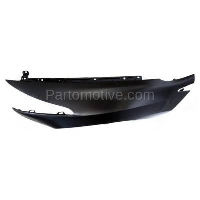 Aftermarket Replacement - FDR-1844L 2010-2013 Acura ZDX Front Fender Quarter Panel without Molding Holes (without Turn Signal Light Hole) Steel Left Driver Side - Image 3
