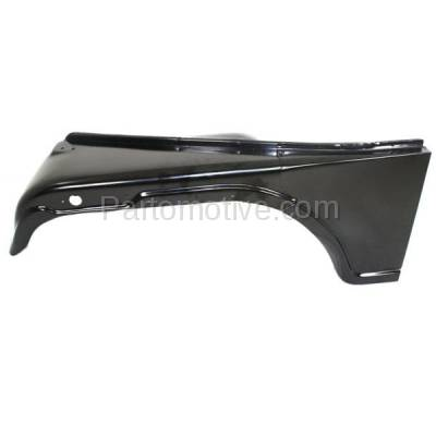 Aftermarket Replacement - FDR-1163L 1968-1986 Jeep CJ-Series (CJ5, CJ5A, CJ7) & Scrambler Front Fender Quarter Panel with Turn Signal Lamp Hole Primed Left Driver Side - Image 1