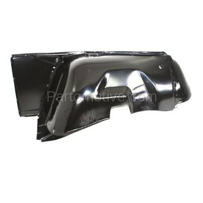 Aftermarket Replacement - FDR-1163L 1968-1986 Jeep CJ-Series (CJ5, CJ5A, CJ7) & Scrambler Front Fender Quarter Panel with Turn Signal Lamp Hole Primed Left Driver Side - Image 2