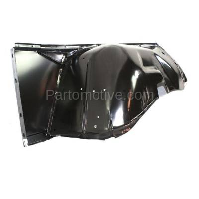 Aftermarket Replacement - FDR-1163L 1968-1986 Jeep CJ-Series (CJ5, CJ5A, CJ7) & Scrambler Front Fender Quarter Panel with Turn Signal Lamp Hole Primed Left Driver Side - Image 3