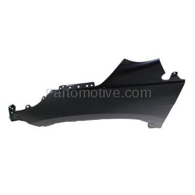 Aftermarket Replacement - FDR-1187L 2012-2016 Honda CR-V (2.4 Liter Engine) Front Fender Quarter Panel (without Molding Holes) Primed Steel Left Driver Side - Image 3