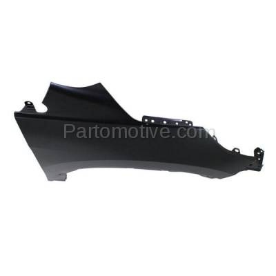 Aftermarket Replacement - FDR-1187R 2012-2016 Honda CR-V (2.4 Liter Engine) Front Fender Quarter Panel (without Molding Holes) Primed Steel Right Passenger Side - Image 3