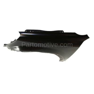 Aftermarket Replacement - FDR-1185L 2002-2006 Honda CR-V (EX, LX, SE) 2.4L Front Fender Quarter Panel (without Turn Signal Lamp Hole) Primed Steel Left Driver Side - Image 3