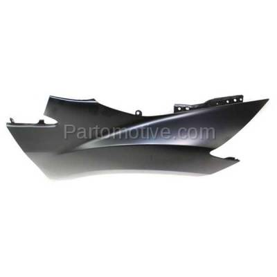 Aftermarket Replacement - FDR-1198R 2007-2012 Mazda CX-7 (2.3 & 2.5 Liter Engine) Front Fender Quarter Panel (without Molding Holes) Primed Right Passenger Side - Image 2