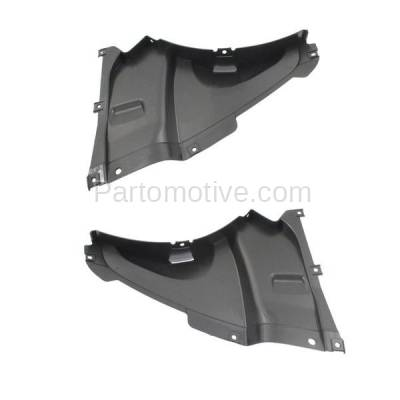 Aftermarket Replacement - IFD-1070L & IFD-1070R 2013-2018 BMW 3-Series (Sedan & Wagon) (with M Sport Line) Front Splash Shield Inner Fender Liner Panel Plastic Left & Right SET PAIR - Image 3