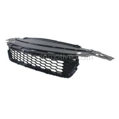 Aftermarket Replacement - GRL-1802C CAPA 13 14 15 Accord Sedan Front Bumper Grill Grille HO1036114 71103T2AA00 - Image 2