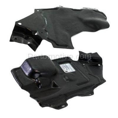 Aftermarket Replacement - ESS-1528L & ESS-1528R Front Engine Splash Shield Under Cover Fits 07-12 Sentra Left & Right SET PAIR - Image 2