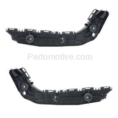 Aftermarket Replacement - BRT-1189FL & BRT-1189FR 2014-2019 4Runner Front Bumper Cover Face Bar Retainer Mounting Brace Reinforcement Support Bracket Plastic SET PAIR Right & Left Side - Image 1