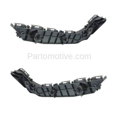 Aftermarket Replacement - BRT-1189FL & BRT-1189FR 2014-2019 4Runner Front Bumper Cover Face Bar Retainer Mounting Brace Reinforcement Support Bracket Plastic SET PAIR Right & Left Side - Image 2