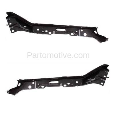 Aftermarket Replacement - BRT-1147FL & BRT-1147FR 2007-2013 Toyota Tundra & 08-19 Sequoia Front Bumper Cover Outer Mounting Reinforcement Support Bracket SET PAIR Right & Left Side - Image 1