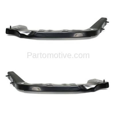 Aftermarket Replacement - BRT-1195FL & BRT-1195FR 2014-2019 Toyota Tundra Pickup Truck Front Bumper Cover Mounting Brace Reinforcement Support Bracket Steel SET PAIR Right & Left Side - Image 2