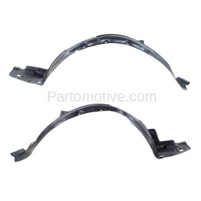 Aftermarket Replacement - IFD-1015L & IFD-1015R 04-05 TSX Front Splash Shield Inner Fender Liner Panel Left Right Side SET PAIR - Image 2