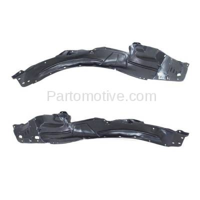Aftermarket Replacement - IFD-1015L & IFD-1015R 04-05 TSX Front Splash Shield Inner Fender Liner Panel Left Right Side SET PAIR - Image 3