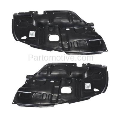 Aftermarket Replacement - ESS-1396L & ESS-1396R 02-03 ES300 & 04-06 ES330 Front Engine Splash Shield Under Cover LH+RH SET PAIR - Image 1