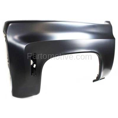 Aftermarket Replacement - FDR-1341L 73-80 Chevy C/K Pickup Truck Fender Quarter Panel Driver Side GM1240124 14031989 - Image 2