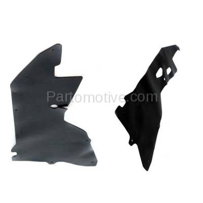 Aftermarket Replacement - ESS-1520L & ESS-1520R Engine Splash Shield Under Cover For 00-04 Frontier Pickup Left & Right SET PAIR - Image 2