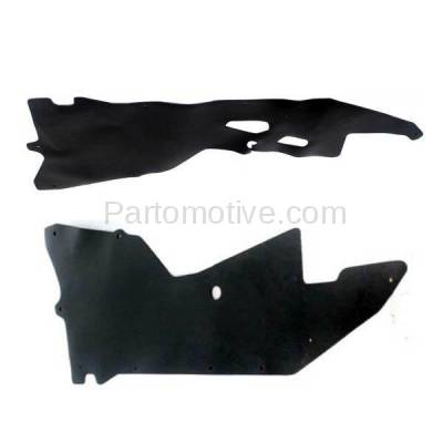 Aftermarket Replacement - ESS-1520L & ESS-1520R Engine Splash Shield Under Cover For 00-04 Frontier Pickup Left & Right SET PAIR - Image 3