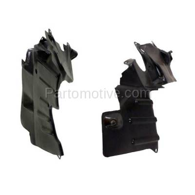 Aftermarket Replacement - ESS-1506L & ESS-1506R 93-96 Mirage Front Engine Splash Shield Under Cover Guard Left & Right SET PAIR - Image 2