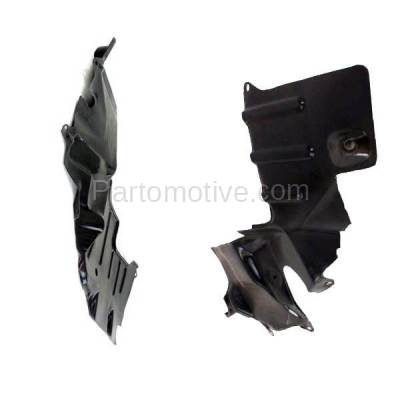 Aftermarket Replacement - ESS-1506L & ESS-1506R 93-96 Mirage Front Engine Splash Shield Under Cover Guard Left & Right SET PAIR - Image 3