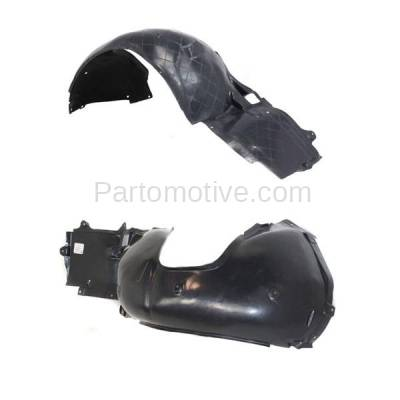 Aftermarket Replacement - IFD-1096L & IFD-1096R 00-06 3-Series Front Splash Shield Inner Fender Liner Panel Left Right SET PAIR - Image 2