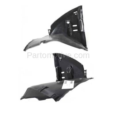 Aftermarket Replacement - IFD-1099L & IFD-1099R 00-06 3-Series Front Splash Shield Inner Fender Liner Panel Left Right SET PAIR - Image 1