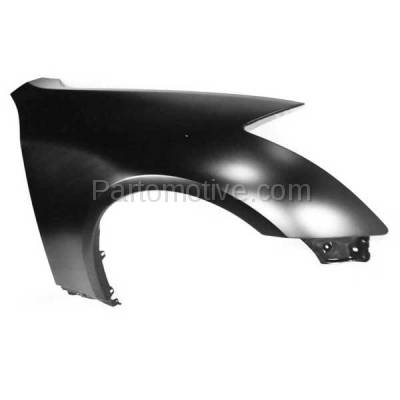 Aftermarket Replacement - FDR-1347R Front Fender Quarter Panel Right Side Fits 03-07 G35 Coupe IN1241108 63100AM830 - Image 2