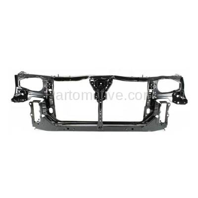 Aftermarket Replacement - RSP-1588 2000-2001 Nissan Altima (GLE, GXE, SE, XE) Sedan (2.4 Liter Engine) Front Center Radiator Support Core Assembly Primed Steel - Image 1