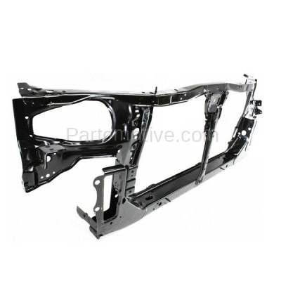 Aftermarket Replacement - RSP-1588 2000-2001 Nissan Altima (GLE, GXE, SE, XE) Sedan (2.4 Liter Engine) Front Center Radiator Support Core Assembly Primed Steel - Image 2