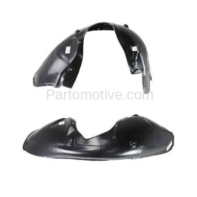 Aftermarket Replacement - IFD-1175L & IFD-1175R 05-10 300 & Charger Front Splash Shield Inner Fender Liner Left & Right SET PAIR - Image 2