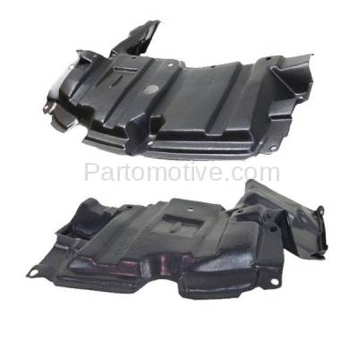 Aftermarket Replacement - ESS-1586L & ESS-1586R 12-15 Prius C Front Engine Splash Shield Under Cover Guard Left & Right SET PAIR - Image 2