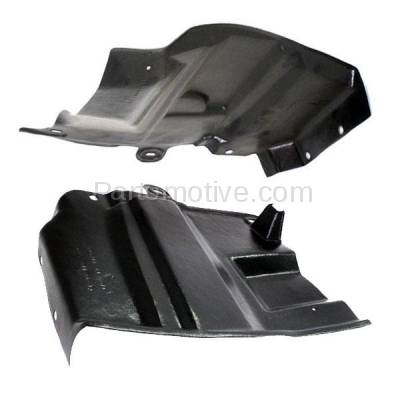 Aftermarket Replacement - ESS-1526L & ESS-1526R Engine Splash Shield Under Cover Undercar For 07-12 Altima Left & Right SET PAIR - Image 2