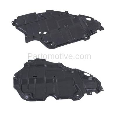 Aftermarket Replacement - ESS-1609L & ESS-1609R 07-11 Camry & Hybrid Front Engine Splash Shield Under Cover Left Right SET PAIR - Image 1