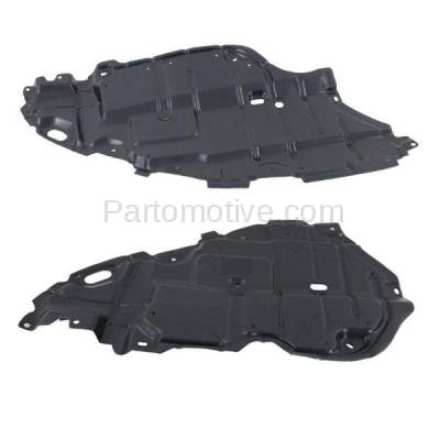 Aftermarket Replacement - ESS-1609L & ESS-1609R 07-11 Camry & Hybrid Front Engine Splash Shield Under Cover Left Right SET PAIR - Image 2