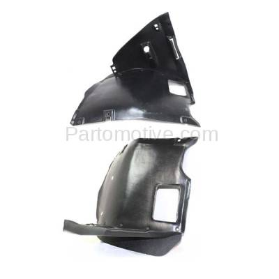 Aftermarket Replacement - IFD-1106L & IFD-1106R 99-06 3-Series Front Splash Shield Inner Fender Liner Panel Left Right SET PAIR - Image 1